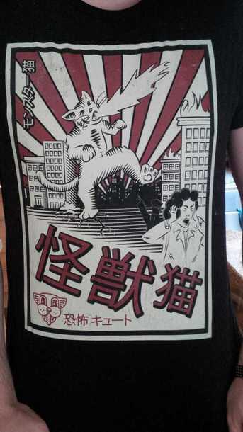 shirt cat shirt