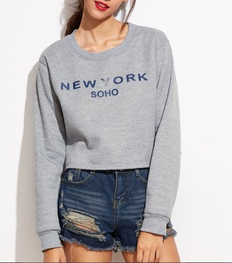 sweater girl girly girly wishlist crop crop tops cropped cropped sweater new york soho