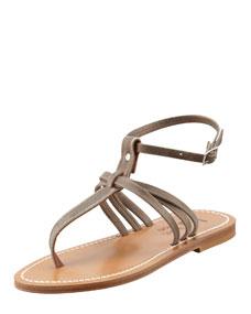 Strap thong sandal