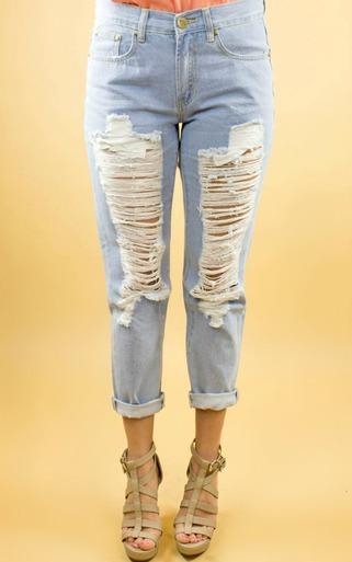 Reverse | Charley Torn Leg Jeans