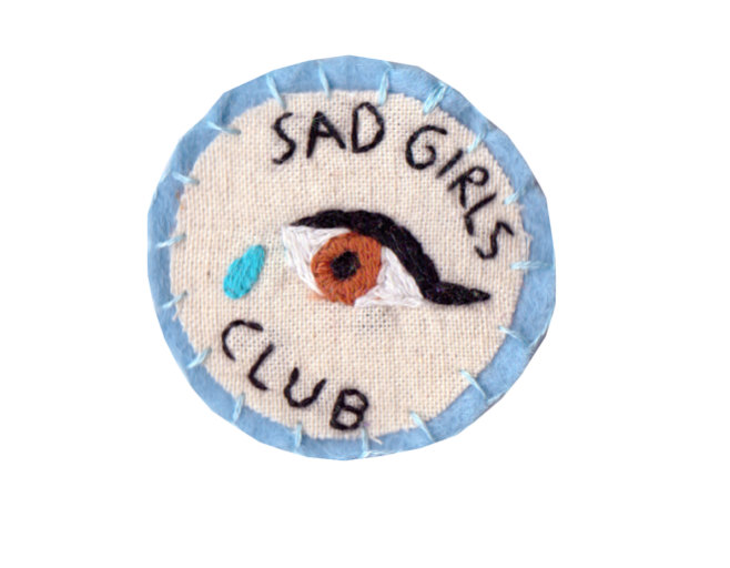 Made to order sad girls club patch