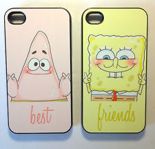 Sponge bob best friend cases for iphone 4 4s iphone 5 and samsung s3