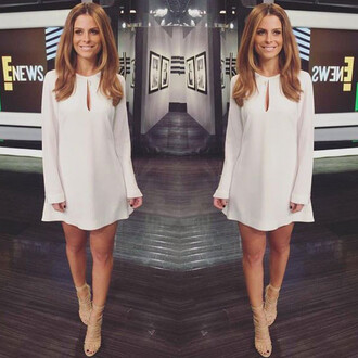 dress boho dress mini dress maria menounos sandals shoes