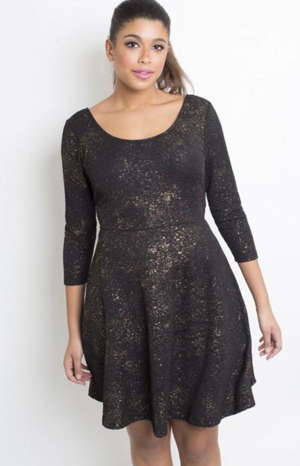 Dress: clothes, plus size, plus size dress