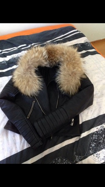 jacket leather jacket leather skirt animal black brown high heels shoes leather sweater black jacked fourrure cuir classy fur vest fur chic fur leather jacket faux fur faux fur jacket fur leather faux fur vest