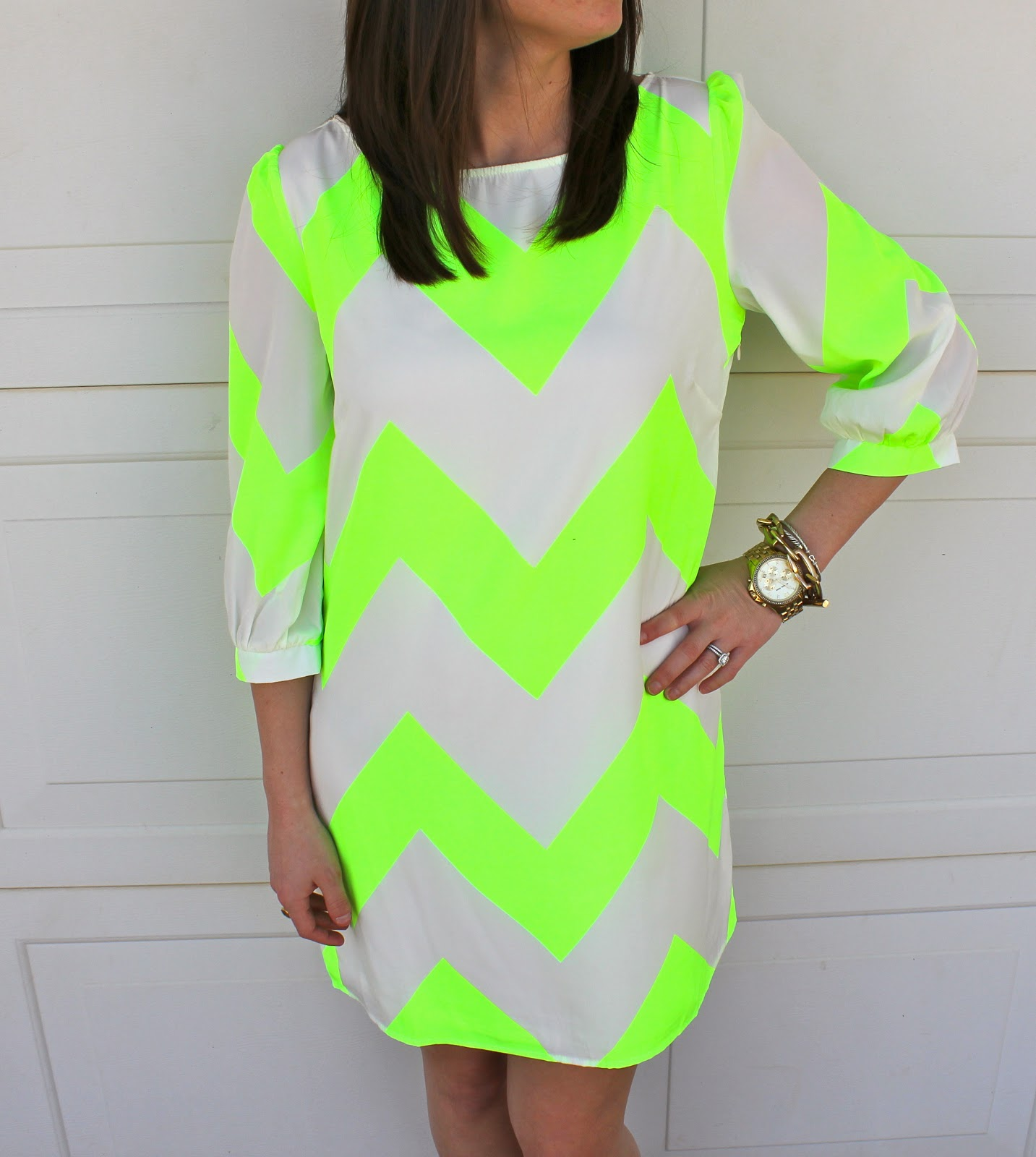 Simply Southern Couture: Neon Chevron
