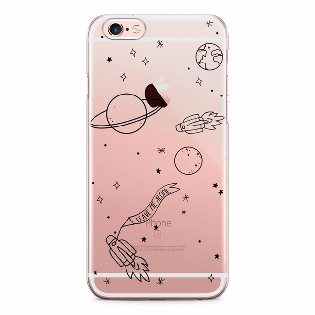 Phone case I need my space Planet Rocket Outer space transparent soft TPU Case Cover for iPhone 7 7Plus 6 6S 6plus 5 5S SE on Aliexpress.com | Alibaba Group