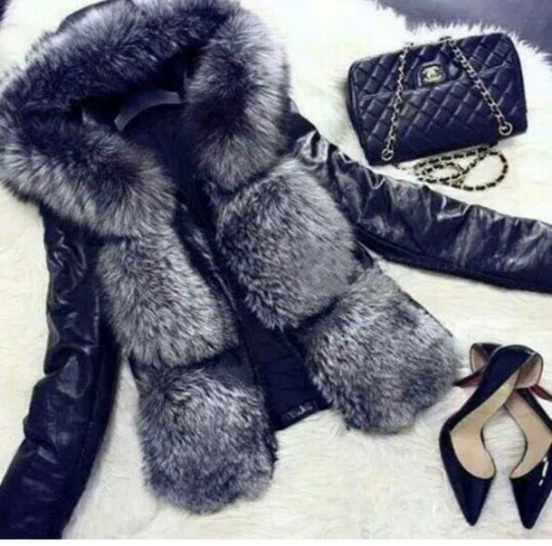 jacket fur coat