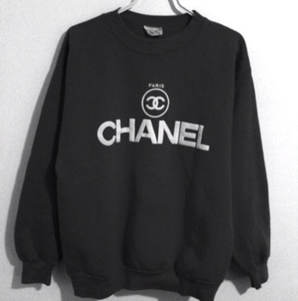 sweater chanel oversized sweater winter sweater clothes sweatshirt jumper paris real original black oversized shirt jacket jewels hoodie vintage top channel crew neck fashion chanel sweater black sweatshirt cc designer logo black sweater chanel jumper black chanel jumper white style fall outfits fall sweater pullover chanel inspired quote on it celebrity spain classy tumblr crewneck neck swag yolo hipster funny blouse mainstream edgy white typing chanel t-shirt beautiful cute cute dress high heels high waisted shorts high top sneakers h&m pink pink dress polka dots 90s grunge girly girly grunge vans hippie goth hipster pastel goth indie grunge soft grunge infinity converse high top converse shoes hair accessory hipster sweater
