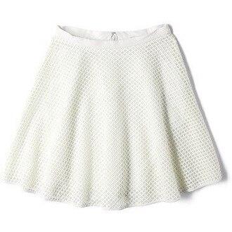 skirt cute vintage hipster back to school retro women dress white