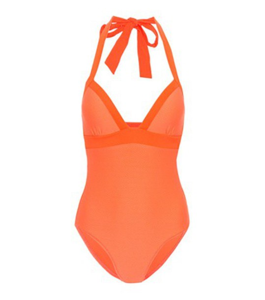 Heidi Klein orange swimwear