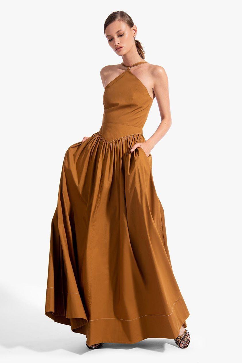 NATASHA DRESS | MOCHA