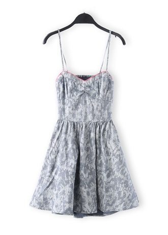 dress denim denim dress summer fashion