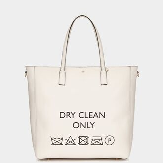 bag dry clean only tote bag leather white bag