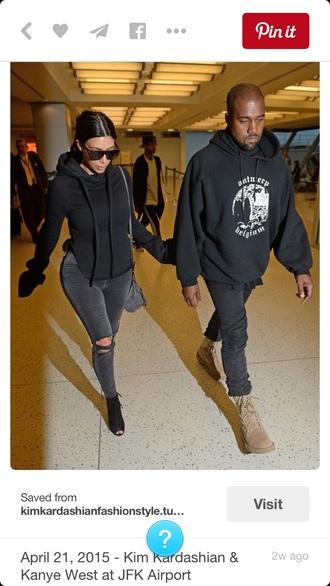 sweater kim kardashian