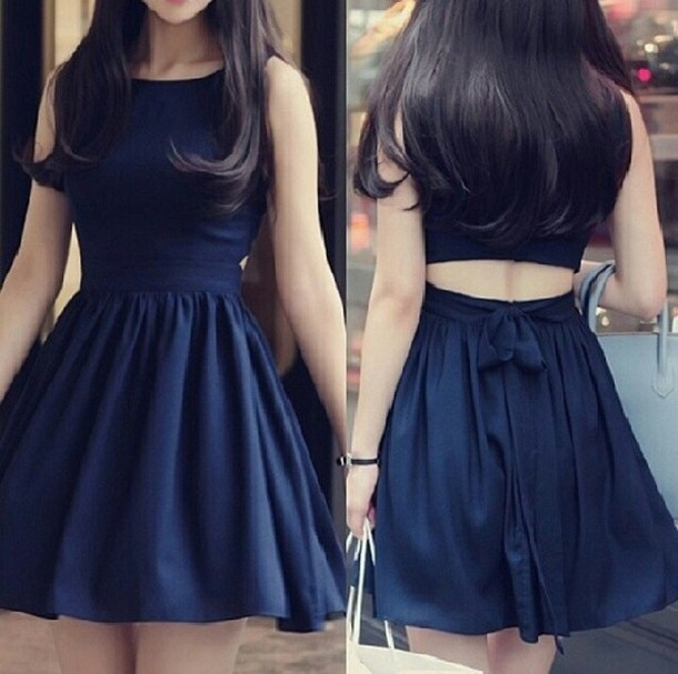 Cute Blue Dresses Photo Album - Klarosa