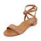 Marion parke josie sandals - camel