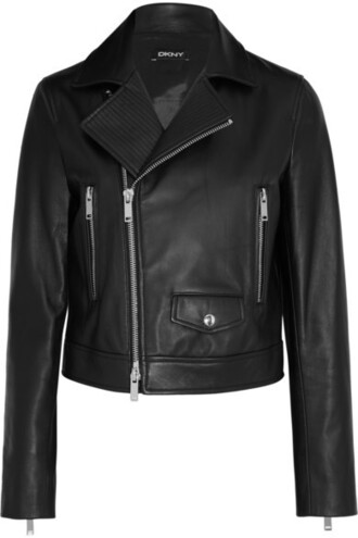 jacket leather jacket outerwear leather clothes black jacket