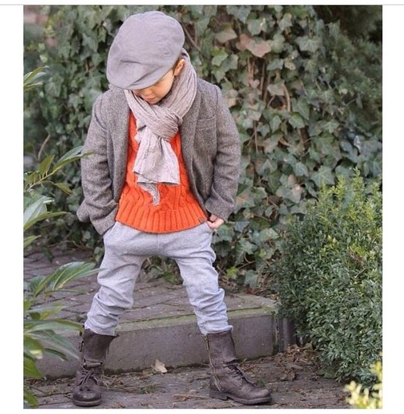 guys scarf kids fashion boots fall outfits fall outfits combat boots Harem harem pants