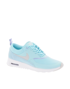 Nike Air Max Thea Flyknit For Mens Blue White Wildflower Clinic