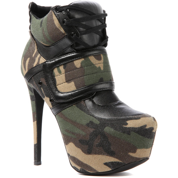 Privileged The Swag Shoe in Army - Polyvore