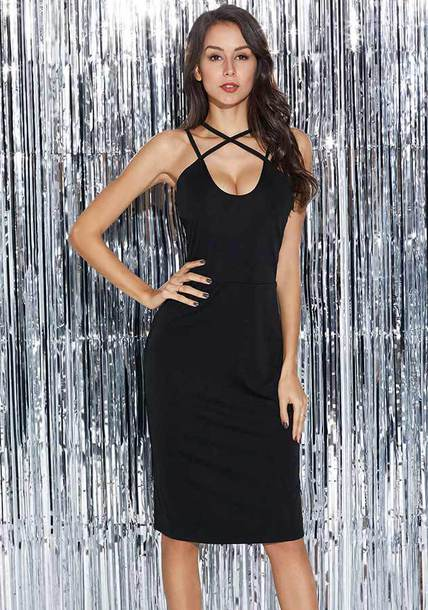 dress sexy dress black dress bodycon womens dresses