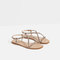 Strappy sandals with gem detail - view all-shoes-woman | zara united states