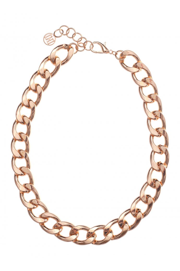 Heavy Chain Necklace in ROSE #12250 - colette by colette hayman