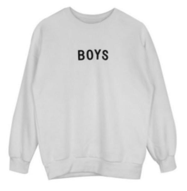 sweater oversized sweater sweatshirt graphic sweater guys white