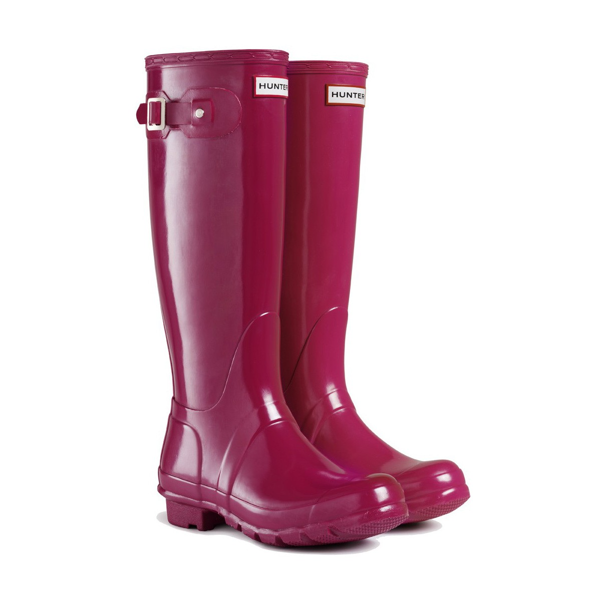 Hunter Boots Original Gloss Cranberry | Hunter Boots