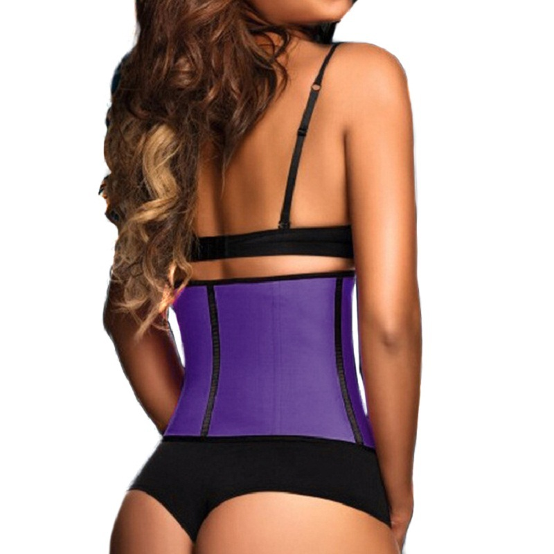 fa40d532fba Aliexpress.com   Buy Latex Waist Cincher Steel Boned Waist Training Corset  2015 Fashion Underwear Slimming Shaper ...