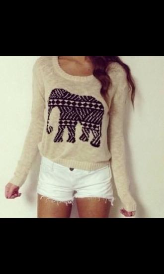 aztec design elephant print white shorts aztec dress aztec tribal. tribal dress