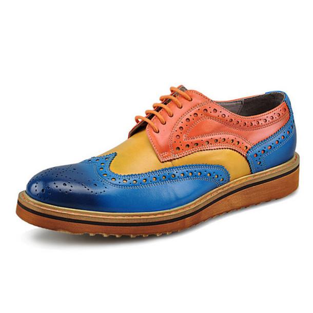 shoes 2016 fashion boots oxfords derbies brogue shoes