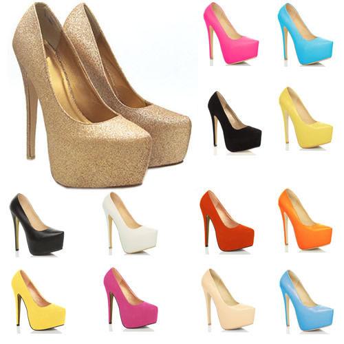 2681b1b5536 New Arrival Women s Platform Pumps High Heels Stiletto Court Shoes ...