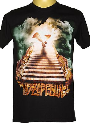 LED Zeppelin 'Srairway to Heaven T Shirt 2 'Brand New with Tags' New Design | eBay
