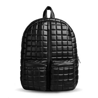 bag fusion clothing quited quilted backpack quilted bag backpack black backpack black streetstyle streetwear