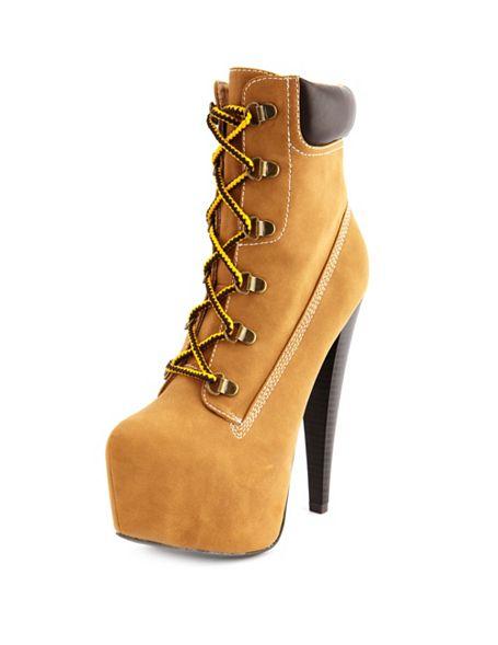 high heel work boots memes