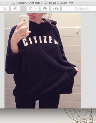 sweater citizen jumper jacket black blvck selfie cute warm cozy love