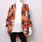 Rust aztec print oversized cardigan – beyond urban