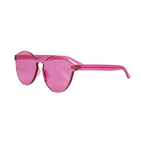 Transparent frameless sunglasses / 6 colors