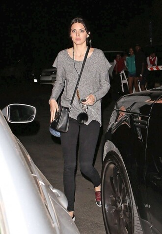 kendall jenner shirt shoes bag pants keychain fall outfits