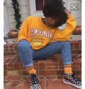 shirt,yellow,graphic tee,sweater,black,african american,blm,movement,top,black lives matter,cute,blk,blackgirlmagic,crewneck,yellow crew neck,awareness,blk awareness,t-shirt,grunge,90's fashion,vans,aesthetic