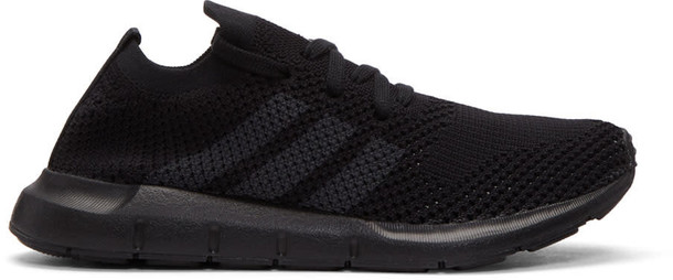 Adidas Originals run sneakers black shoes