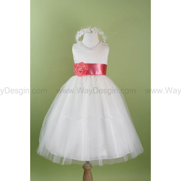 flower girl dress dress white white dress