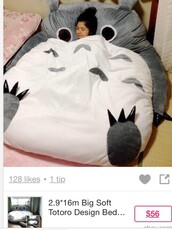 home accessory,totoro,bedding,sofa,totoro bed