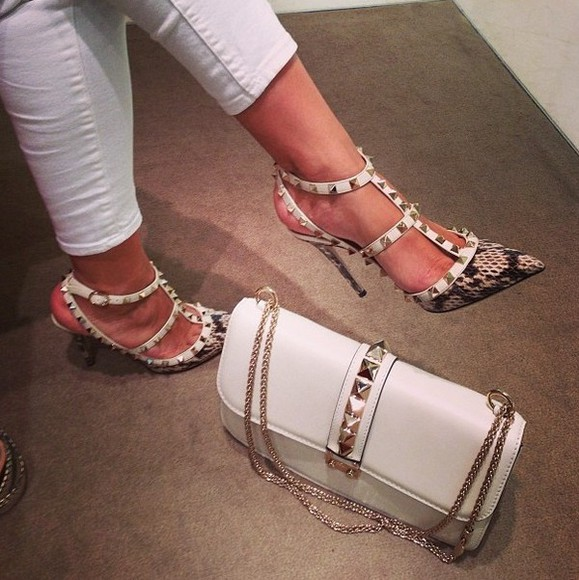 Valentino shoes bag