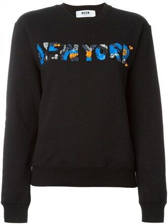 sweatshirt new black sweater