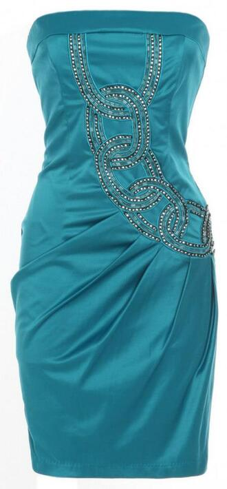 dress boutique sexy party dresses party strapless dress blue dress rhinestone dress diamonte dress sexy summer only way is essex