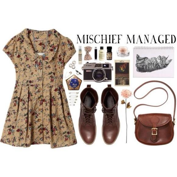 dress floral dress fashion