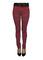 Tripp red plaid printed ladies skinny jeans